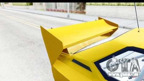 GTA 5 Obey Omnis IVF pour GTA San Andreas vue de côté
