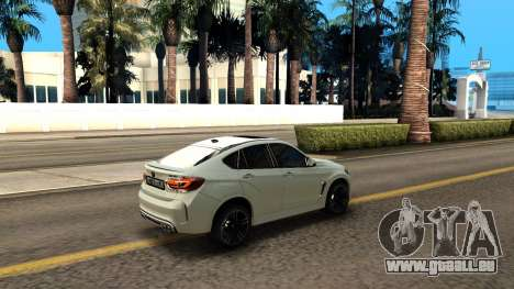 BMW X6M Bulkin Edition pour GTA San Andreas vue de côté