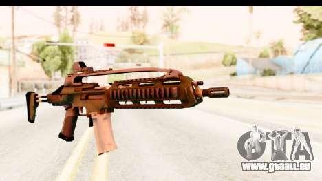 SCAR-LK Green pour GTA San Andreas