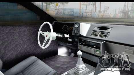 MGSV Phantom Pain Firetruck pour GTA San Andreas vue intérieure