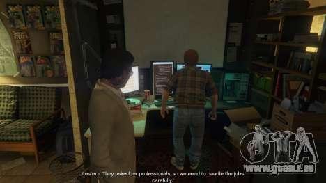 GTA 5 Story Mode Heists [.NET] 1.2.3 troisième capture d'écran