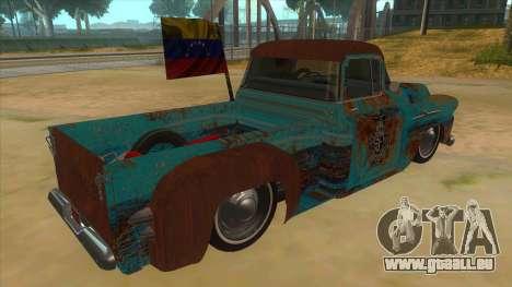 Chevrolet Apache für GTA San Andreas rechten Ansicht