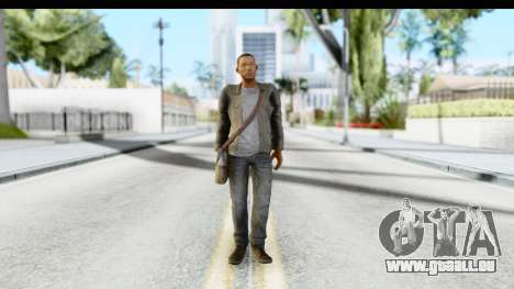I Am Legend - Will Smith v2 Fixed pour GTA San Andreas deuxième écran