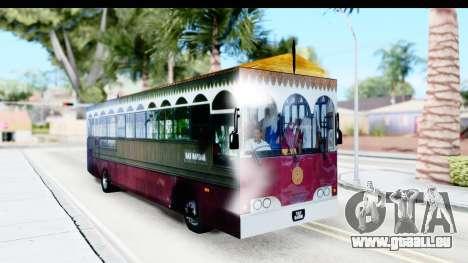 Cas Ligas Terengganu City Bus Updated pour GTA San Andreas vue de droite