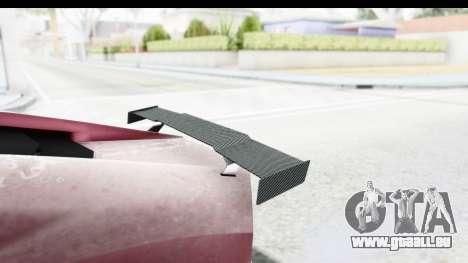 GTA 5 Pegassi Reaper v2 IVF pour GTA San Andreas vue intérieure