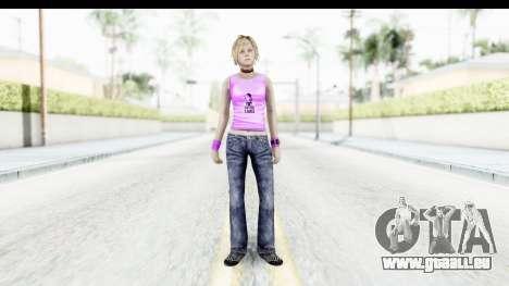 Silent Hill 3 - Heather Sporty Neon Pink für GTA San Andreas zweiten Screenshot