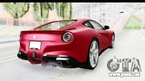 Ferrari F12 Berlinetta 2014 für GTA San Andreas rechten Ansicht