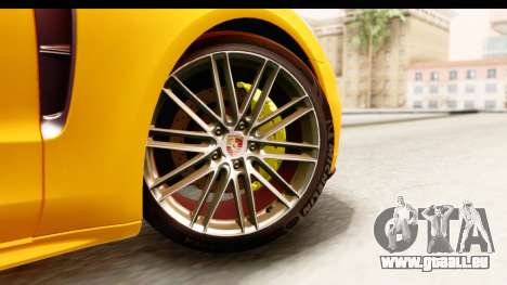 Porsche Panamera 4S 2017 v3 für GTA San Andreas zurück linke Ansicht