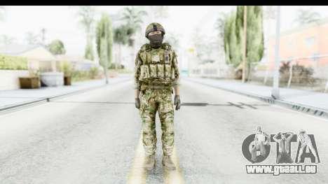 Global Warfare UK pour GTA San Andreas deuxième écran