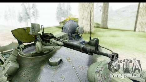 T-62 Wood Camo v2 pour GTA San Andreas vue arrière