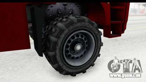 GTA 5 MTL Dune 3D Shadow IVF für GTA San Andreas Rückansicht