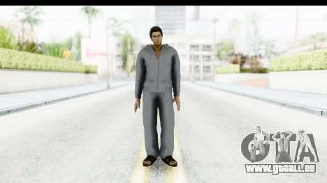 Yakuza 5 Kazuma Kiryu Home pour GTA San Andreas deuxième écran