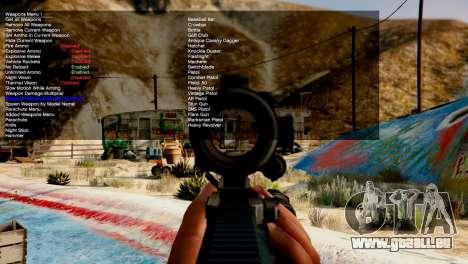 GTA 5 Simple Trainer v4.0 quatrième capture d'écran