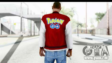 Jacket Pokemon Pokeball pour GTA San Andreas deuxième écran