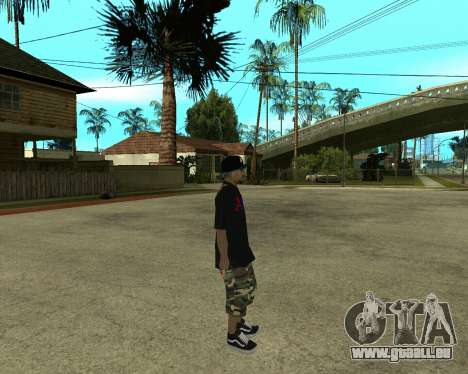 New Armenian Skin pour GTA San Andreas onzième écran