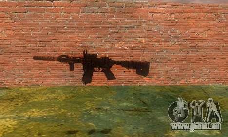 Noveske Diplomat 7.5 pour GTA San Andreas quatrième écran