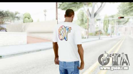 OF T-Shirt pour GTA San Andreas troisième écran