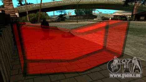 Nouveau jeton pour GTA San Andreas troisième écran