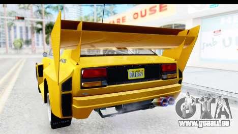 GTA 5 Obey Omnis IVF pour GTA San Andreas moteur