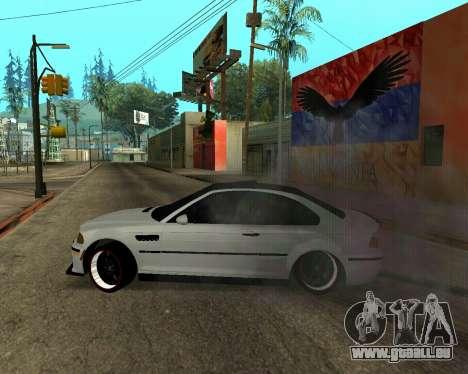 BMW M3 Armenian pour GTA San Andreas moteur