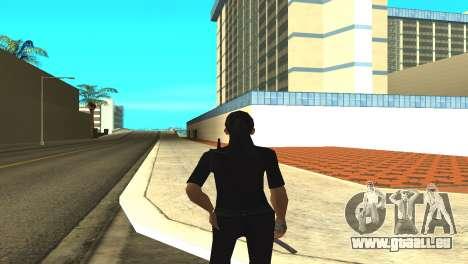 Haut von einem weiblichen Offizier für GTA San Andreas dritten Screenshot