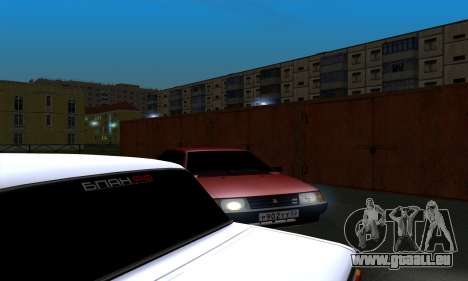 2109 pour GTA San Andreas moteur