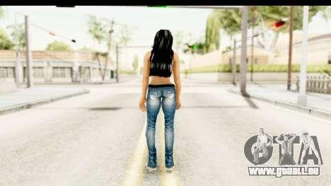 Gangsta Girl pour GTA San Andreas troisième écran