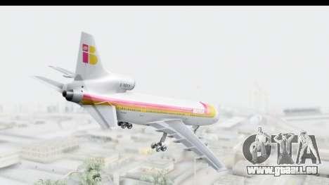 Lockheed L-1011-100 TriStar Iberia pour GTA San Andreas laissé vue