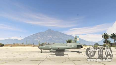 GTA 5 AT-26 Impala Xavante ARG dritten Screenshot