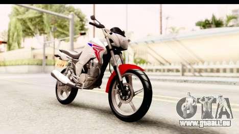Honda CG150 pour GTA San Andreas vue de droite