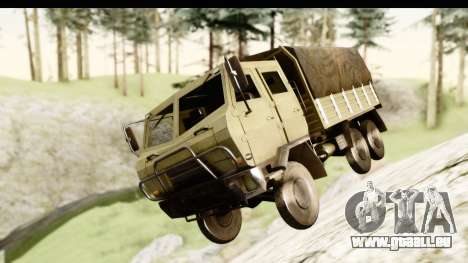 Dongfeng SX Military Truck für GTA San Andreas