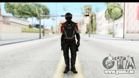 Homefront The Revolution - KPA v3 Captain pour GTA San Andreas deuxième écran