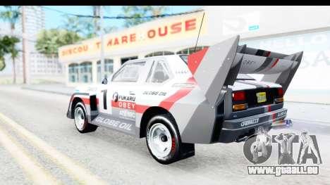 GTA 5 Obey Omnis pour GTA San Andreas vue de dessus