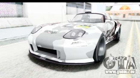 GTA 5 Bravado Banshee 900R Mip Map pour GTA San Andreas roue