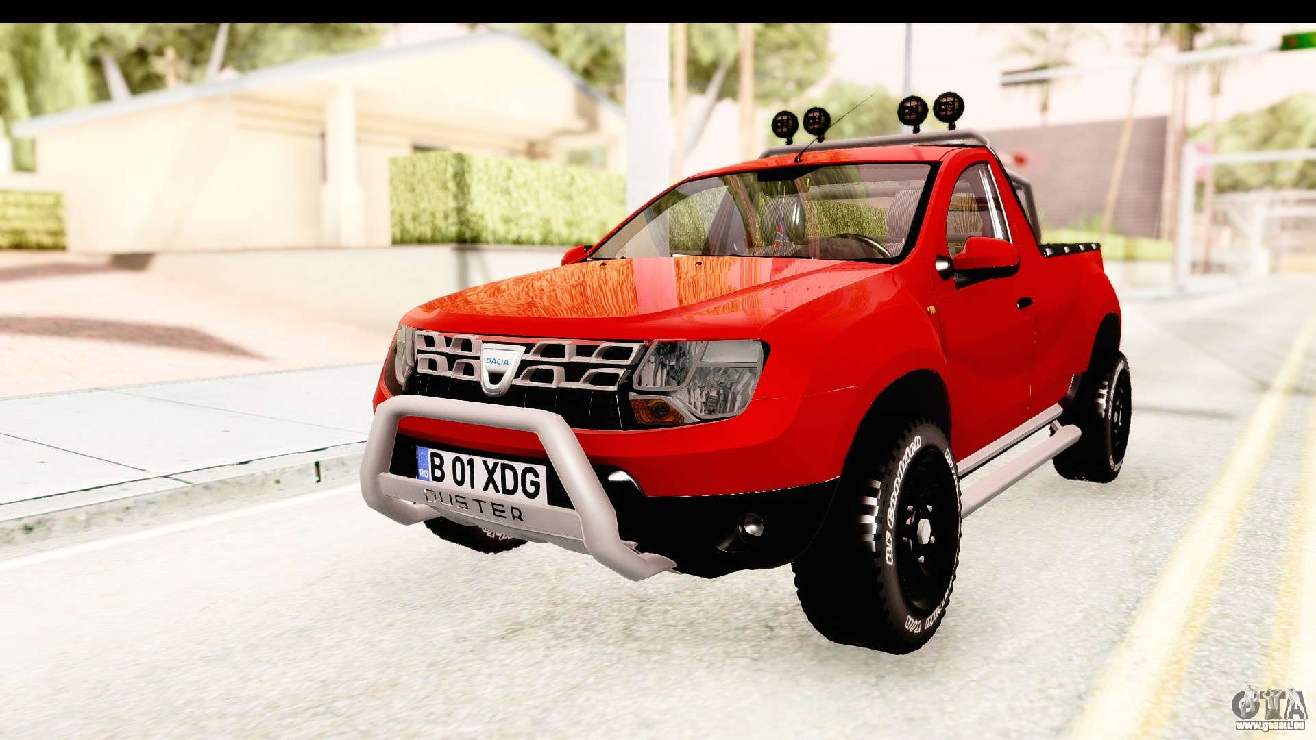 dacia duster pickup pour gta san andreas. Black Bedroom Furniture Sets. Home Design Ideas