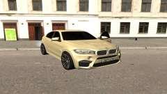 BMW X6M Bulkin für GTA San Andreas