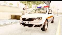 Dacia Logan Facelift Ambulanta v2 pour GTA San Andreas
