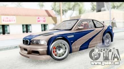 NFS Carbon - BMW M3 GTR pour GTA San Andreas