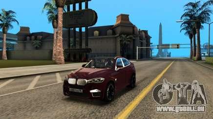 BMW X6M Bulkin Edition pour GTA San Andreas