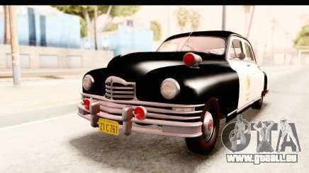 Packard Standart Eight 1948 Touring Sedan LAPD pour GTA San Andreas