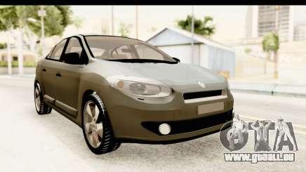 Renault Fluence v2 für GTA San Andreas