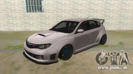 2008 Subaru WRX Widebody L3D pour GTA San Andreas
