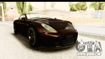 GTA 5 Dewbauchee Rapid GT SA Style pour GTA San Andreas