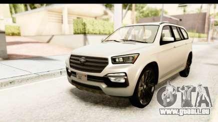 GTA 5 Benefactor XLS SA Style pour GTA San Andreas