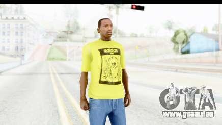 Adidas Thor T-Shirt für GTA San Andreas