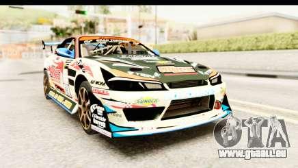 D1GP Nissan Silvia RC926 Toyo Tires pour GTA San Andreas