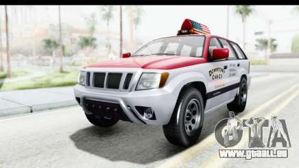 GTA 5 Canis Seminole Downtown Cab Co. Taxi für GTA San Andreas