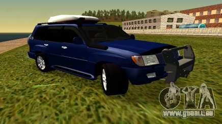 Toyota Land Cruiser 100vx2 pour GTA San Andreas