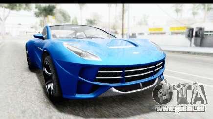 GTA 5 Dewbauchee Seven 70 für GTA San Andreas