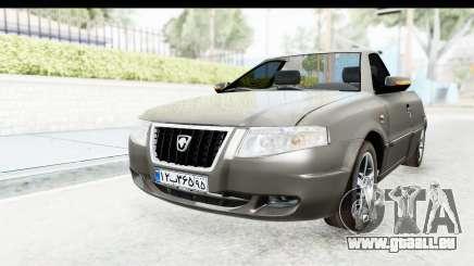 Ikco Samand Pickup v1 für GTA San Andreas
